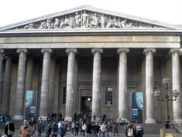 The British Museum would have been a fitting place for Ahmanet to visit