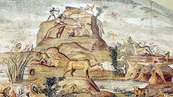 The wild landscape of Aethiopia depicting many indigenous and mythical animals (1)